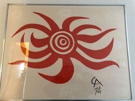 """Alexander Calder """"The Flying ColorsCollection""""          """"Sunburst"""""""