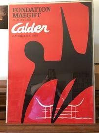 "Calder Poster ""Fondation Maeght"""