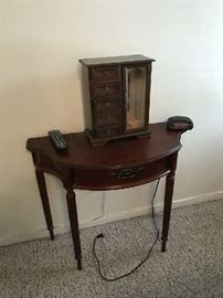 small 1/2 table