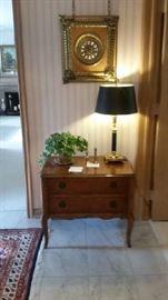 Ansonia clock, Baker table