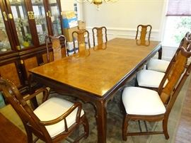 Dining Room Table - 8ft, 2 in. long, 3 feet, 8 in wide, 2 feet, 6 in height