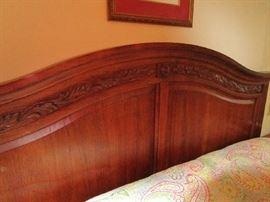 Thomasville Furniture king size bed w/mattress set,
