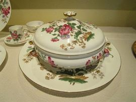 "Wedgwood bone china ""Charnwood"" pattern.  Complete set."