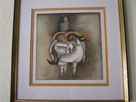 Graciela Rodo Boulanger, Bolivian artist.