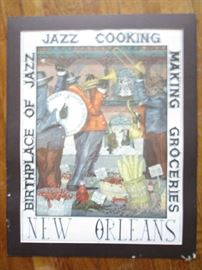 New Orleans poster by George Luttrell.