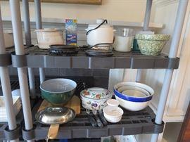Stoneware Bowls and Kitchen