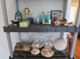 Mechanical Bank, Shells, Perfume
