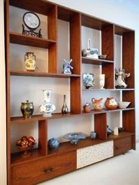 ROOM DIVIDER & OBJECTS OF ART