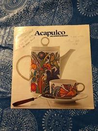 ACAPULCO VILLEROY & BOCH dishware