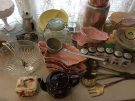vintage and mid century items.