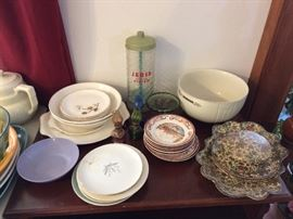 Several pieces from Japan.