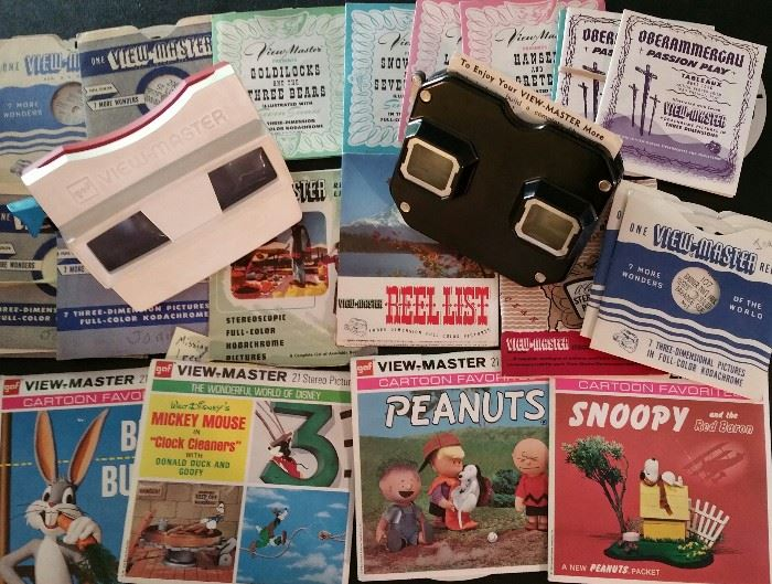 View Masters and slides