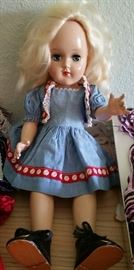Toni Doll (comes with lots of clothes)