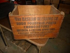 neat old wood box
