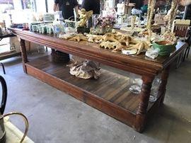 Large 8 foot farm table (narrow plank)