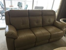 Like New Recliner Sofa