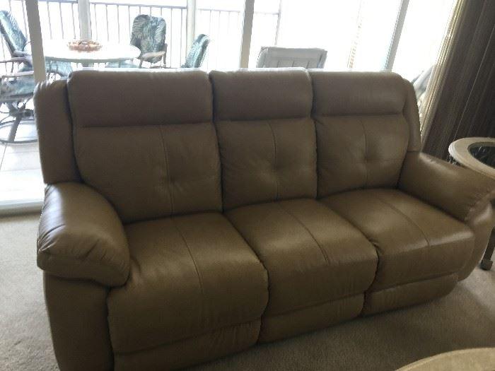 Like New Recliner Sofa