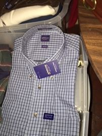 Brand new dress shirts (and a LOT of them)