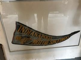Indianapolis Motor Speedway Pennant from 1930's