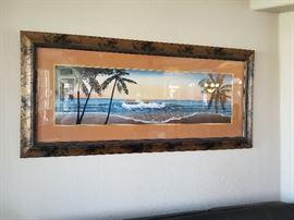 Large Tropical Print
