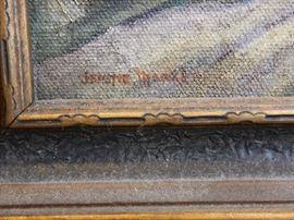 ORIGINAL ARTWORK...19TH C OILS, REGIONALIST, PRIMITIVE, PRINTS, ETC.