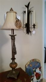 lamp and sconce
