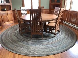 "Spectacular 60"" Table and Chairs!,"