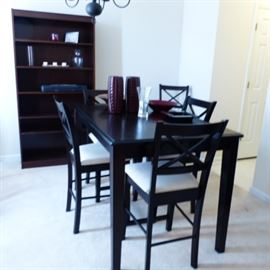 High Top Table with 6 chairs