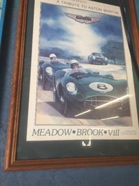 Vintage  Racecar posters