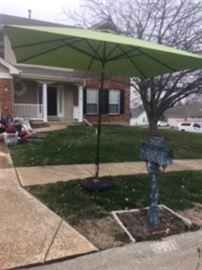 Gradin Rd. Outdoor Market umbrella priced $75.00.