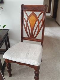 Dining Chair - one of 6 that goes with the dining room table