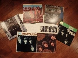 BEATLES RECORDS / WITH THE BEATLES - ABBEY ROAD - AND MORE