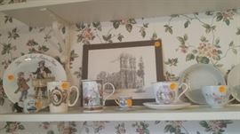 English Commemoratives and collectibles