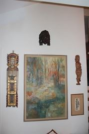 Loads of Art, Watercolors, Oils, Prints