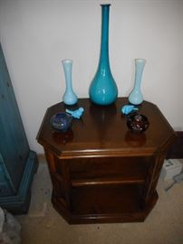 Ethan Allen Traditional Open Occasional Table. Mid Century Decor