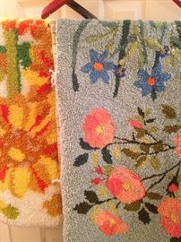 Hand hooked rugs