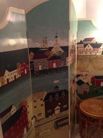 New England  room divider