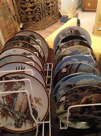 Wild life plates