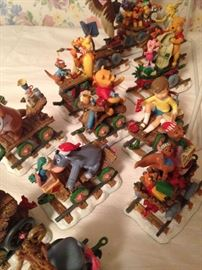 Winnie the Pooh train pieces