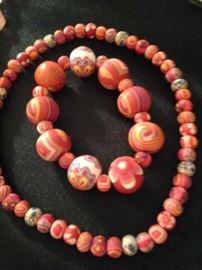 Fun necklace and bracelet set