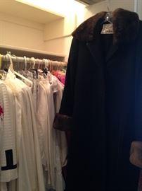 "Camel hair coat - ""Fleurette"" made for Neiman Marcus"