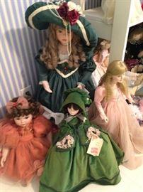 "Other dolls including Madame Alexander ""Scarlett O'Hara"""