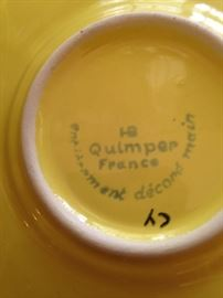 Quimper (France) dishes