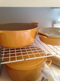 Le Creuset is a premium French cookware manufacturer best known for its colorfully-enameled cast-iron cookware