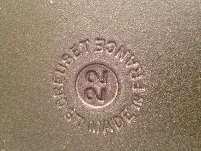 Le Creuset (made in France) cookware