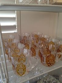 Numerous punch cups