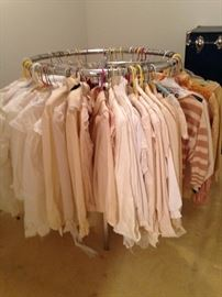 What style white or tan blouse would you like?