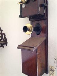 Unique wall phone