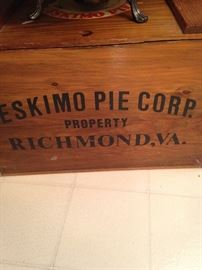 Old box from the Eskimo Pie Corp.