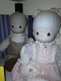 Precious Moments dolls